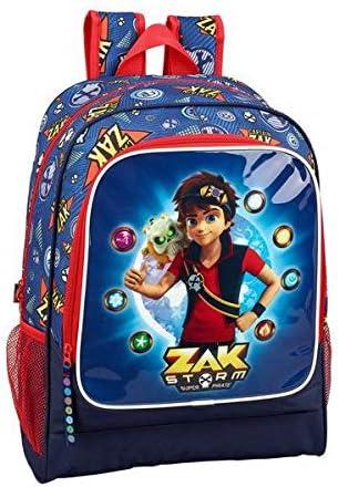Zak Storm - Captain Zak Oficial Mochila Escolar 320x140x420mm