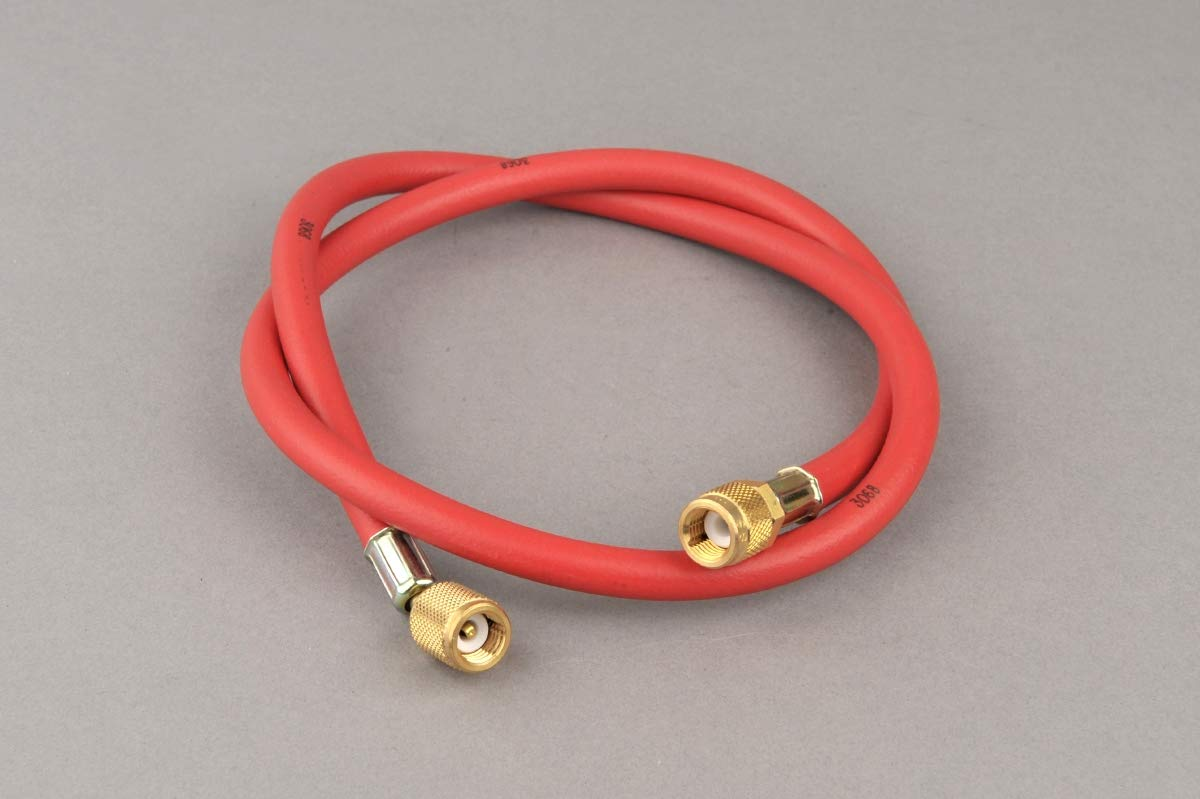 Air-Con Air Conditioning Charging Hose 150cm - Red BSD