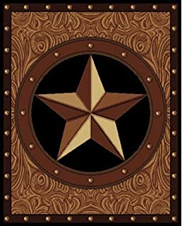 United Weavers Legends Collection Ranch Star 5 Feet 3 Inch By 7 Feet