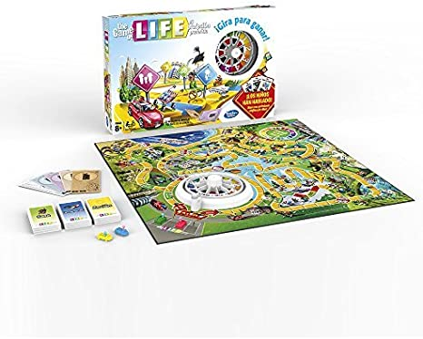 Hasbro Gaming - Juego de Tablero The Game of Life (04000105 ...