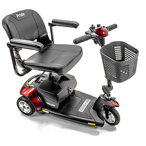 Pride Mobility Go Go Travel Vehicle Elite 3 Wheel Scooter