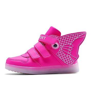 MhC Zapatos de niño Zapatos Deportivos de Cuero con Cordones/Zapatillas con Cordones Zapatillas con