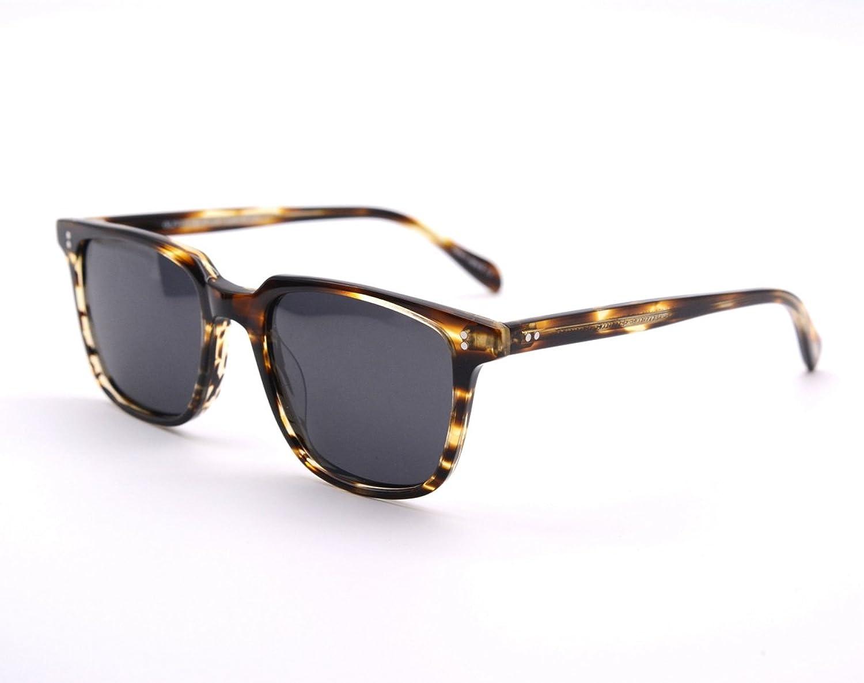 EyeGlow Vintage Square Sunglasses Men and Women Polarized Lens S6801