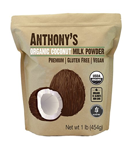 Organic Coconut Milk Powder by Anthony's (1lb), Gluten Free, Vegan & Dairy Free ()