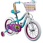 """Schwinn Kids Girls Iris 16"""" Bike - Blue/White"""