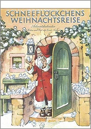 'Schneeflöckchens Weihnachtsreise' nostalgischer Adventskalender mit 24 Blättern zum Abreißen