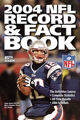 2004 NFL Record & Fact Book (OFFICIAL NATIONAL FOOTBALL LEAGUE RECORD AND FACT BOOK) (Soap Football)