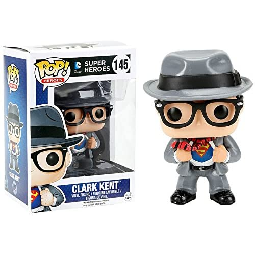Funko DC Funko POP! Heroes Clark Kent Exclusive Vinyl Figure #145