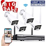 Security Camera System Wireless with Nig...