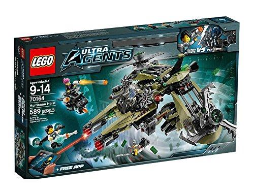 Lego Ultra agent Hurricane robbery 70164 - Ultra Agent Lego Sets