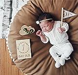 Abreeze Baby Mat Round Nursery Rug Play Pad