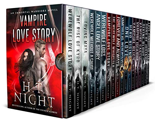 - Vampire Love Story Saga (18 Books)
