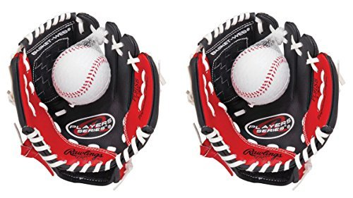 Rawlings Players Series 9-inch Youth Baseball Glove (Right Handers Glove) -2 Pack
