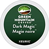 Green Mountain Coffee Dark Magic Single Serve K-Cup pods for Keurig brewers, 18 Count