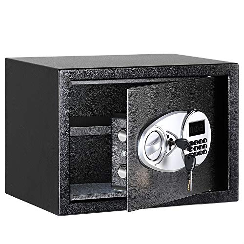 AmazonBasics Security Safe Box, 0.5 Cubic Feet