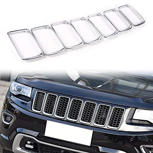 jeep cherokee chrome grill - 4