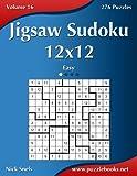 Jigsaw Sudoku 12x12: Easy 276 Puzzles