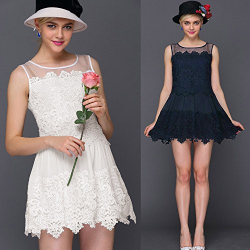 szivyshi - Vestido - para mujer blanco