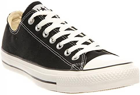 Converse Unisex Chuck Taylor All Star Ox Low Top Black Sneakers - 7.5 D(M) US