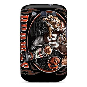 New Cleveland Browns Tpu Case Cover, Anti-scratch OOR258Smkb Phone Case For Galaxy S3