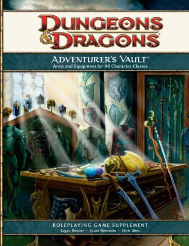 Adventurers Vault - Adventurer's Vault: A Guide to Weapons, Equipment, and Treasure for Your Character (D&d Supplement) (Dungeons & Dragons) by Wizards RPG Team (2008-09-25)