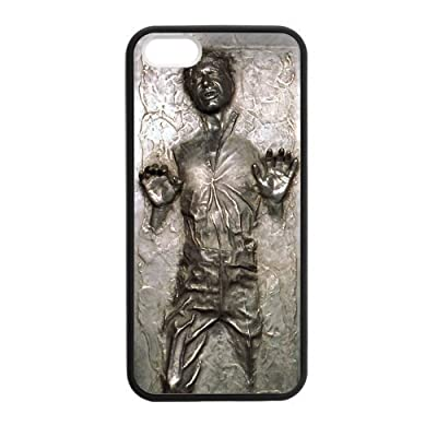 Frozen Han Solo Star Wars Case Cover for iPhone 5 5S from ETshop