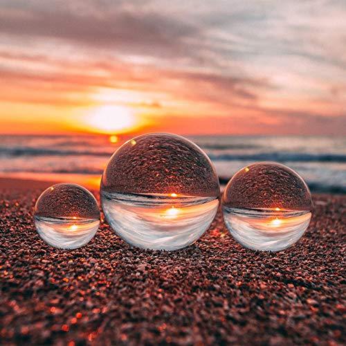 Bola de cristal transp. p/ acces. de fotografía y decoracion