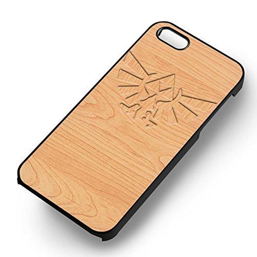 Symbol On Wood pour Coque Iphone 6 et Coque Iphone 6s Case (Noir Boîtier en plastique dur) S4P9CV