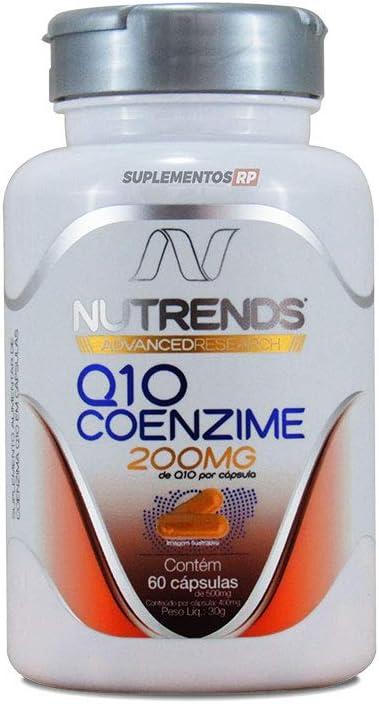 Q10 Coenzima 200mg VEGAN 60 cápsulas, Nutrends