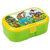 Lunchbox Zoo mit herausnehmbaren Obst und Gemüsefach