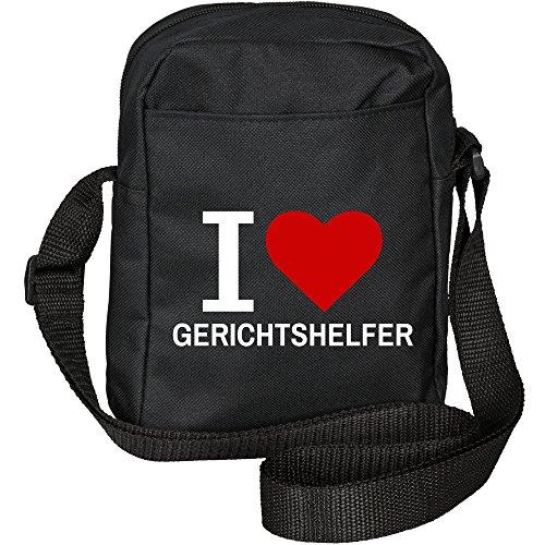 Shoulder Helper Bag Love Black I Classic Dish qXwAxPOO
