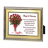 Best Poetry Gifts Aunt Frames - 50th Anniversary Gift – Fifty Years Wedding Anniversary Review