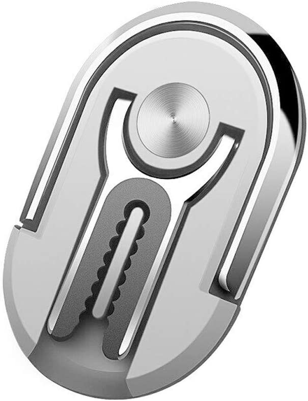Silver XLSTORE Car Multipurpose Mobile Phone Bracket Holder 360 Degree Rotation Free