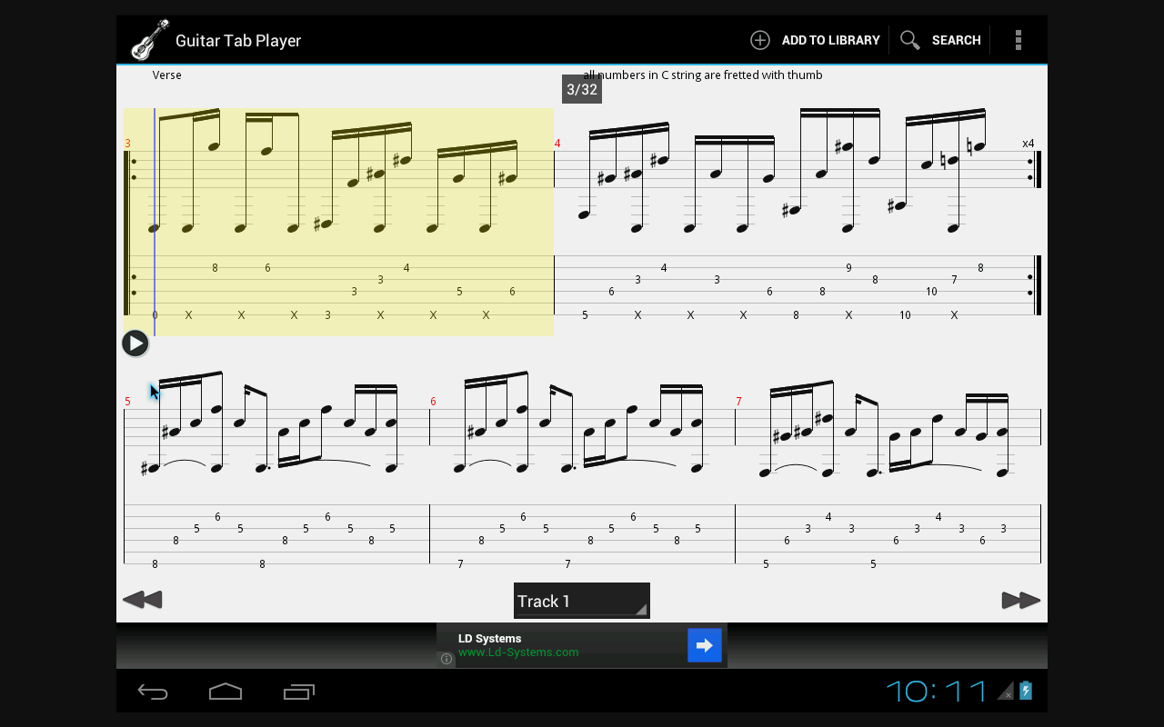Amazon Guitar Tab Player Appstore For Android