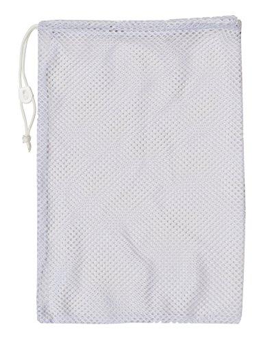 Champion Sports Mesh Equipment Bag (24 x 36) White (White Equipment)