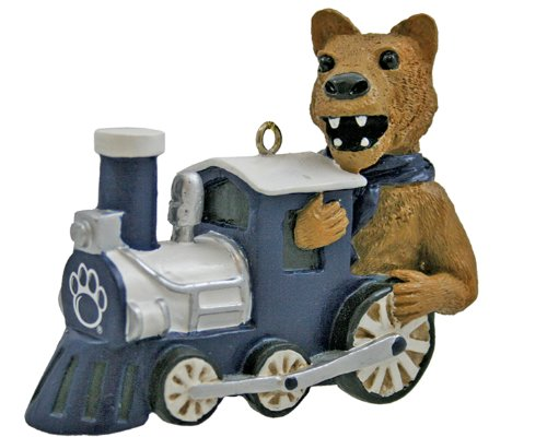 NCAA Penn State Nittany Lions Mascot Train Ornament
