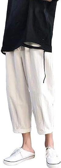 [ダーセン]メンズ デニムパンツ ジーンズ ダメージ加工 夏 クロップドパンツ ブルー かっこいいボトムス ズボン ストレート 原宿風パンツ デート お出掛け カジュアル 薄手 通気 学院風
