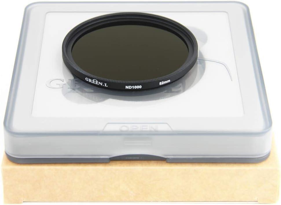 DHD digital marcas nd8 filtro filtro gris ND 52mm 8 densidad neutral 52 mm