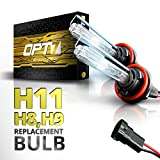 hid bulb h11 - OPT7 Bolt AC H11 Replacement HID Bulbs Pair [5000K Bright White] Xenon Light