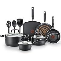 T-Fal Signature 12-piece Aluminum Nonstick Cookware Set