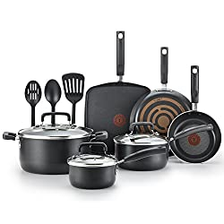 T-Fal Signature Non-stick Expert 12-Piece Black Cookware Set Review