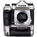 Pentax K-1 36.4MP DSLR Camera with Battery Grip, Limited Silver Edition