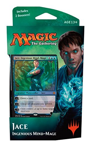Magic The Gathering: IXALAN Planeswalker Deck - Jace - Ingenious Mide-Mage