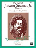 img - for The Best of Johann Strauss, Jr. Waltzes (For String Quartet or String Orchestra): Viola book / textbook / text book