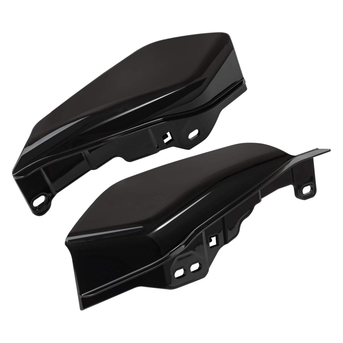 PBYMT Black Mid Frame Air Deflector Compatible for Harley Trike Touring Road King Street Glide 2017-2019