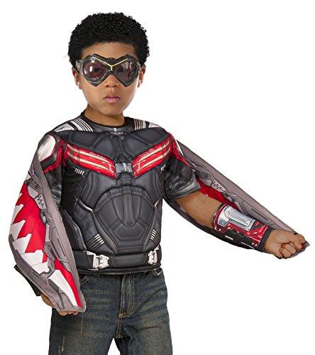 Captain Costumes Falcon (Marvel Captain America: Civil War Boxed Falcon Muscle)