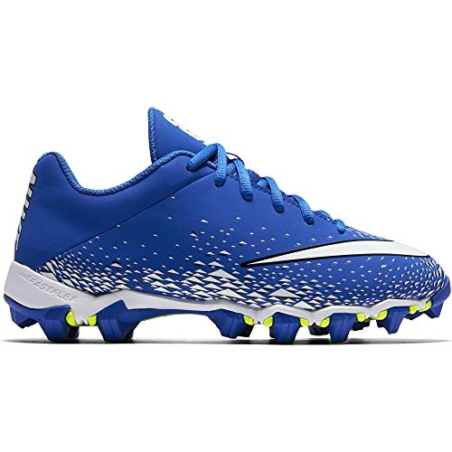 NIKE Boy's Vapor Shark 2.0 (GS) Football Cleat Game Royal/White/Black Size 13 Kids US by NIKE