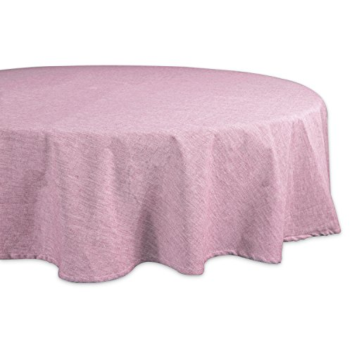 (DII CAMZ36984 100% Cotton, Machine Washable, Everyday Kitchen Tablecloth for Dinner Parties, Summer & Outdoor Picnics-70 Seats 4 to 6 People, 70