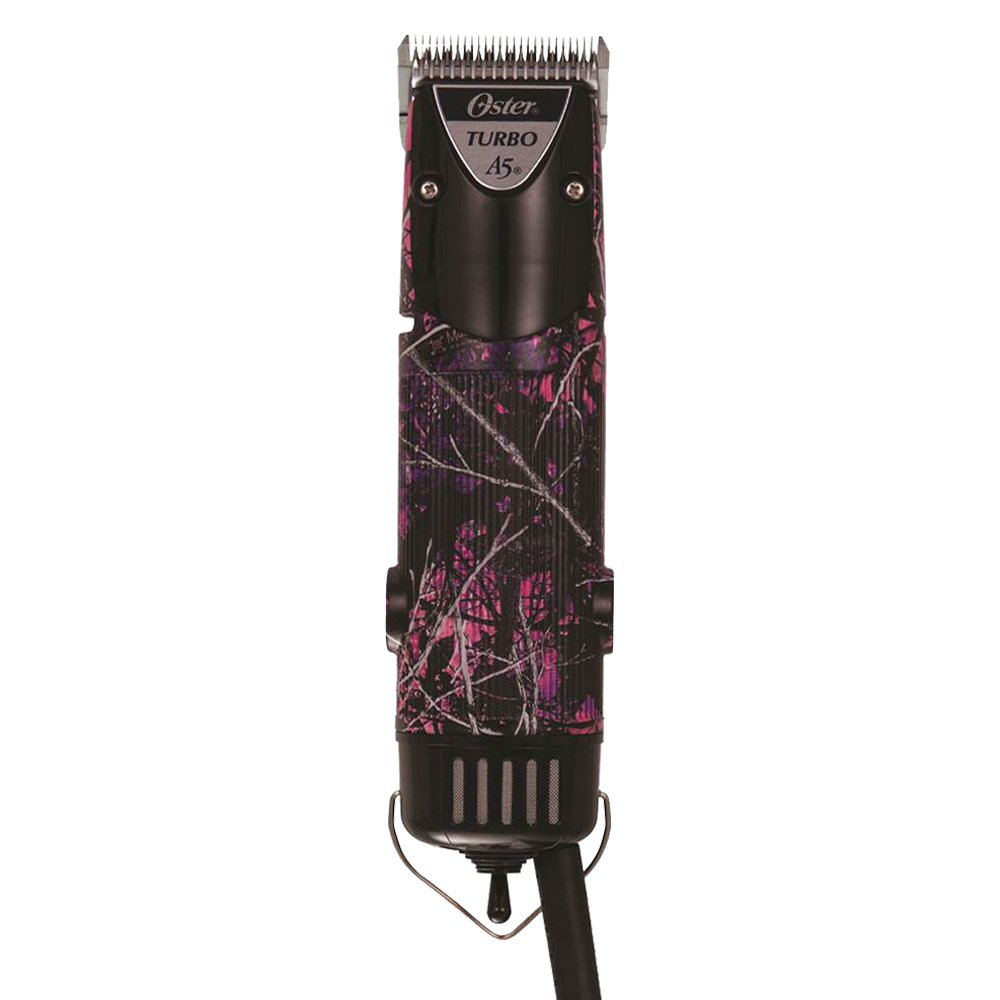 Oster A5 Turbo 2 Speed Muddy Girl Camo Clipper