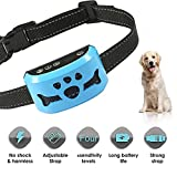 Dog Bark Collar - Stop Dogs Barking Fast! Safe Anti Barking Devices Training Control Collars, Small, Medium and Large Pets Deterrent